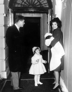 Feb. 4, 1961: The Kennedy children move into the White House