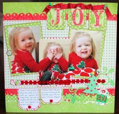 Doodlebug Christmas Collection   Mid Week Mojo #scrapbooking #layout