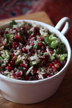 Superfood Salad-- The Full-on Energy Salad. Vegan