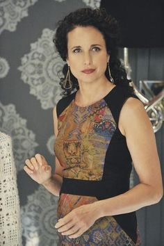 Andie MacDowell. She is a beauty who never dates herself. One of the celebrities that truly ages naturally and gracefully.