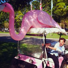 My wonderful son! Golf cart for mother's day???