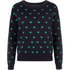 All-Over #Heart  #Jumper  #sweet