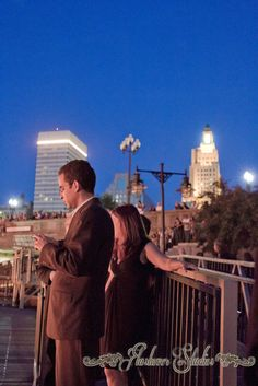 Mayor of Providence during Waterfire with the city in the back...:)
