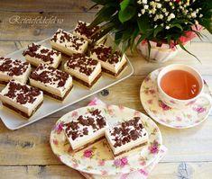 Prăjitura cu foaie sfărâmată sau Prăjitura Katy - Rețete Fel de Fel Waffles, Gem, Breakfast, Food, Tarts, Morning Coffee, Meal, Essen, Gemstones