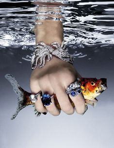 Les diamants dans Vogue Paris
