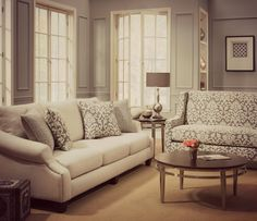 """What a beautiful room group! What do you think?   """"Like"""" if you want this sofa in your home. Comment with ideas on how you would decorate this room.#Furniture #HomeFurnishings #LivingRoom #Contemporary #HomeDecor #Design #DecorateIt"""