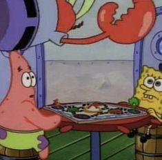 Spongebob Pics, Funny Spongebob Memes, Cartoon Memes, Cartoon Pics, Stupid Memes, Funny Memes, Squidward Dancing, Cartoon Wallpaper, Iphone Wallpaper