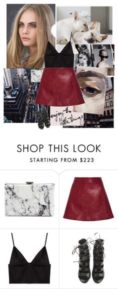 """""""Untitled #199"""" by fashionably-late ❤ liked on Polyvore featuring Balenciaga, Ganni, T By Alexander Wang and Balmain"""