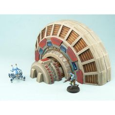 Sci-Fi Power Generator for 28mm wargames