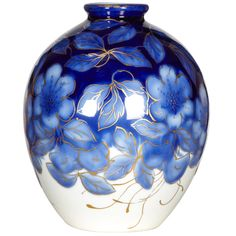 1950s porcelain vase by Camille Tharaud.
