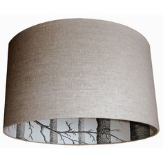 Lounge lightshade, many size options available at http://www.lovefrankie.com/product/cole-son-woods-silhouette-lampshade/
