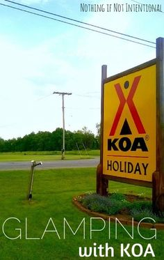 What's it like to go cabin camping (aka glamping!) at a KOA? #CampKOA