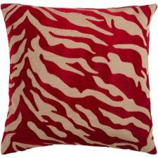 Wild & Free Pillow, Ruby Red