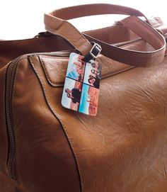 Head on an adventure. Personalize a luggage tag for your next vacation. | Shutterfly
