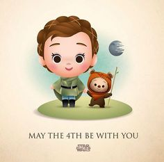 Leia and Wicket