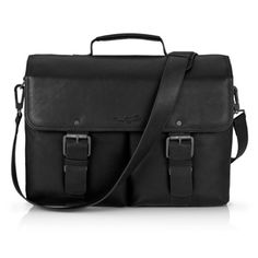"""Kenneth Cole New York 15"""" Colombian Leather Flapover Portfolio Case for MacBook Pro - Apple Store (U.S.)"""