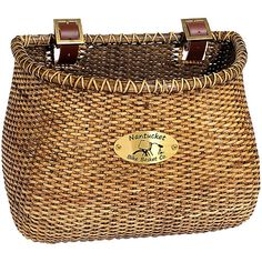 Nantucket Bicycle Basket, Stained - Walmart.com
