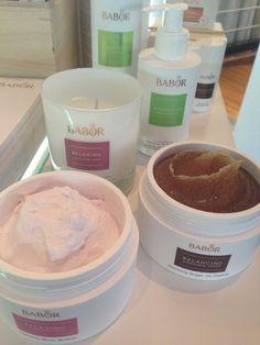 BABOR Spa Relaxing Body Butter och Balancing Sugar Peeling