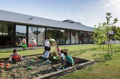 Gallery of Yutaka Kindergarten / - Einrichtungsstil Kindergarten Pictures, Kindergarten Design, Playground Design, Outdoor Playground, Daycare Design, School Design, Learning Activities, Outdoor Activities, Outdoor Learning