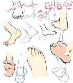Drawing tutorials - Feet - Imgur