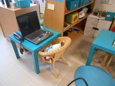Bureau in de huishoek