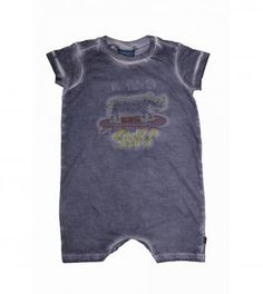 """Short-sleeved babygrow for baby boys, with a cold water dye and """"Rhino Surf"""" applique. Boy Clothing, Clothes, Boy Outfits, Fashion Outfits, Baby Boys, Surf, Applique, Kids Shop, Cold"""