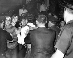 The police started a riot full of brutal beating in a openly gay bar on June This event became known as the Stonewall riot. The police did not enforce justice but instead committed injustice. This began a gay revolution in strive to obtain gay rights. Stonewall Inn, Stonewall Riots, Bbc News, Sylvia Rivera, The Flashpoint, Stonewall Uprising, Gay Rights Movement, Don Delillo, Lgbt History