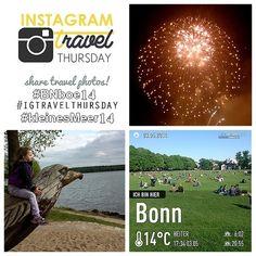Mein Instagram Travel Thursday am 08. Mai 2014  Letzte Woche waren Sonja und ich in Bonn bei Rhein in Flammen (