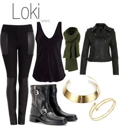 """Loki"" by sampoly ❤ liked on Polyvore"