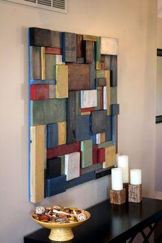 Art mural en bois peintBurned wood clock, Home decor, Original clock, Hand…Le Bois – Iris & Karo Wooden Wall Decor, Wooden Wall Art, Wooden Walls, Diy Wall Art, Wall Wood, Unique Wall Art, Reclaimed Wood Wall Art, Wooden House, Brick Wall
