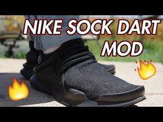 Risultati immagini per nike sock dart black custom