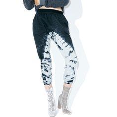 Crashing Wavez Sweats ($38) ❤ liked on Polyvore featuring activewear, activewear pants and mono b