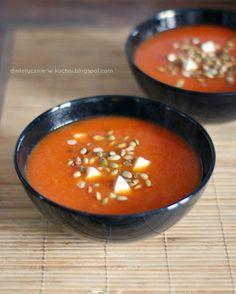 """Moje Dietetyczne Fanaberie: Moja ulubiona """"upieczona"""" zupa"""