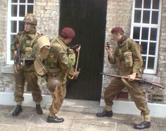 British Paratroopers.