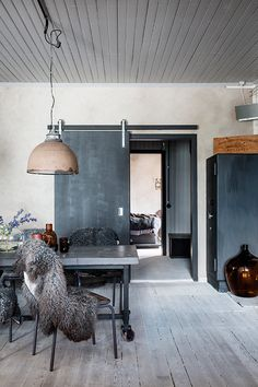A SWEDISH HOME WITH A RAW EDGE | THE STYLE FILES