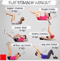 Flat tummy workout. BUT... You must stay committed, repeat workout 2 or 3 times, and believe in yourself!
