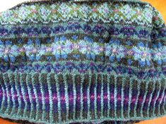 fair isle autumn rose - Buscar con Google