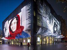 Manuelle Gautrand 건축술, 파리 - 프랑스에 의하여 Gaumont-Pathé Alésia 영화관»소매 디자인 블로그