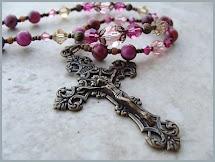 Handmade vintage rosaries