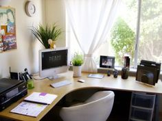 Home Office Design Idea for Small Space