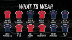 2014 ole miss color schedule