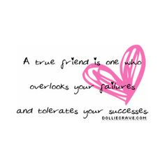 friend should be like that