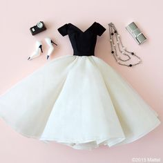 Style tip: black and white is always right! #barbie #barbiestyle