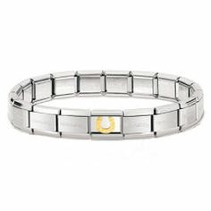 Shop contemporary All Categories at Something Elegant.{rule::data::department} and Jewellery from Nomination, Fiorelli, Fred Bennet and more. Nomination Bracelet, Fiorelli, Bracelet Charms, Bracelets, Bracelet Designs, 18k Gold, Charmed, Gold Plating, Elegant