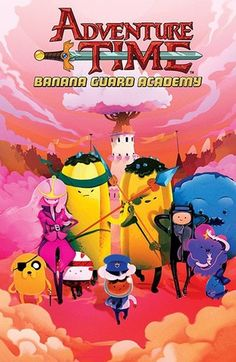 Graphic Novel #43 was Adventure Time: Banana Guard Academy. This comic started out good, but let me down in the last issue. Overall, I thought the story was pretty fun and was digging the parallel universes aspect, but bringing back the alternate future where Ooo is taken over by robots was tired in my opinion. I feel like they could have done so much better with this one.