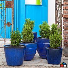 #Maceteros colección Stoneware #Jardin #Terraza Planter Pots, Exterior, Outdoors, Gardening, Natural, Ideas, Gardens, Living Alone, Home