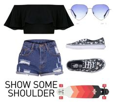 """""""Summer Vibes"""" by liz-looks-ok on Polyvore featuring Vans and Boohoo"""
