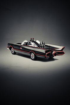 Cars We Love by Cihan Ünalan, via Behance. Batman's Batmobile.