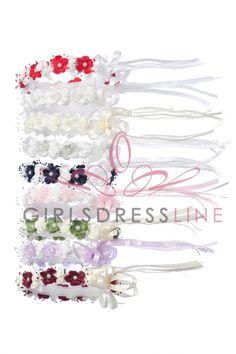 Head Piece for the Flower Girl TT-479W on www.GirlsDressLine.Com