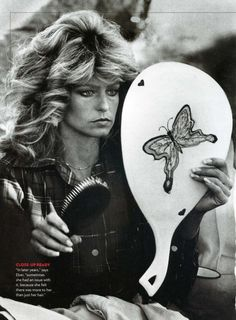 Farrah Fawcett (the hair of the century)